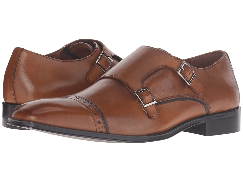Steve Madden Cajole (Tan Leather) Men
