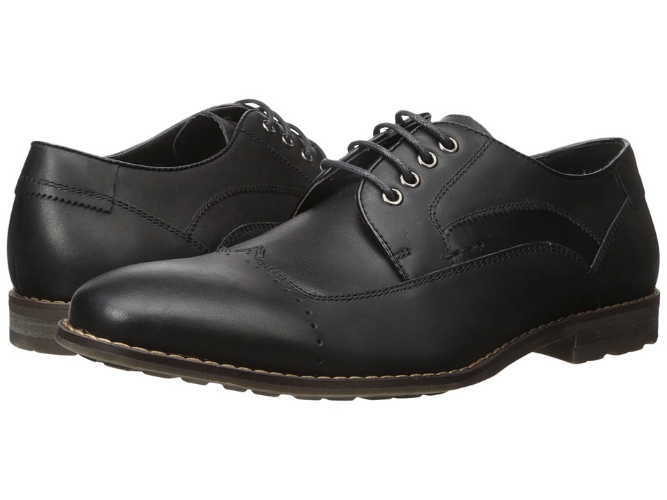 Steve Madden Kyngdom (Black Leather) Men