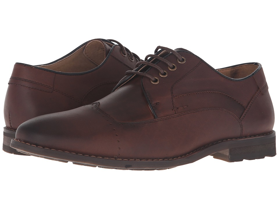 Steve Madden Kyngdom (Brown Leather) Men