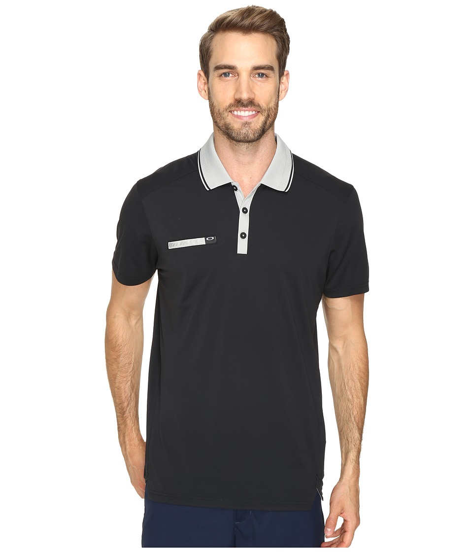 Oakley - Hazard Polo (Black) Men's Short Sleeve Knit