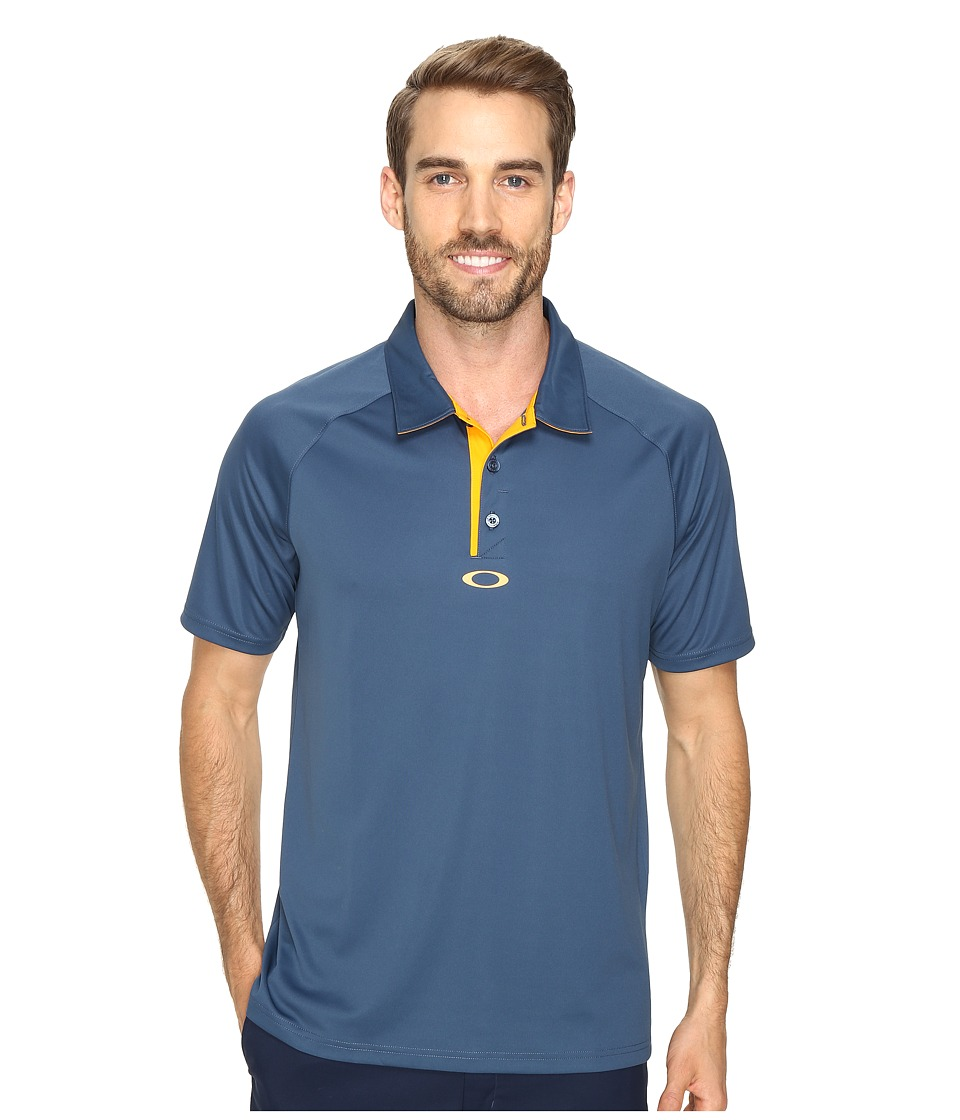 Oakley - Elemental 2.0 Polo (Blue Shade) Men's Short Sleeve Pullover