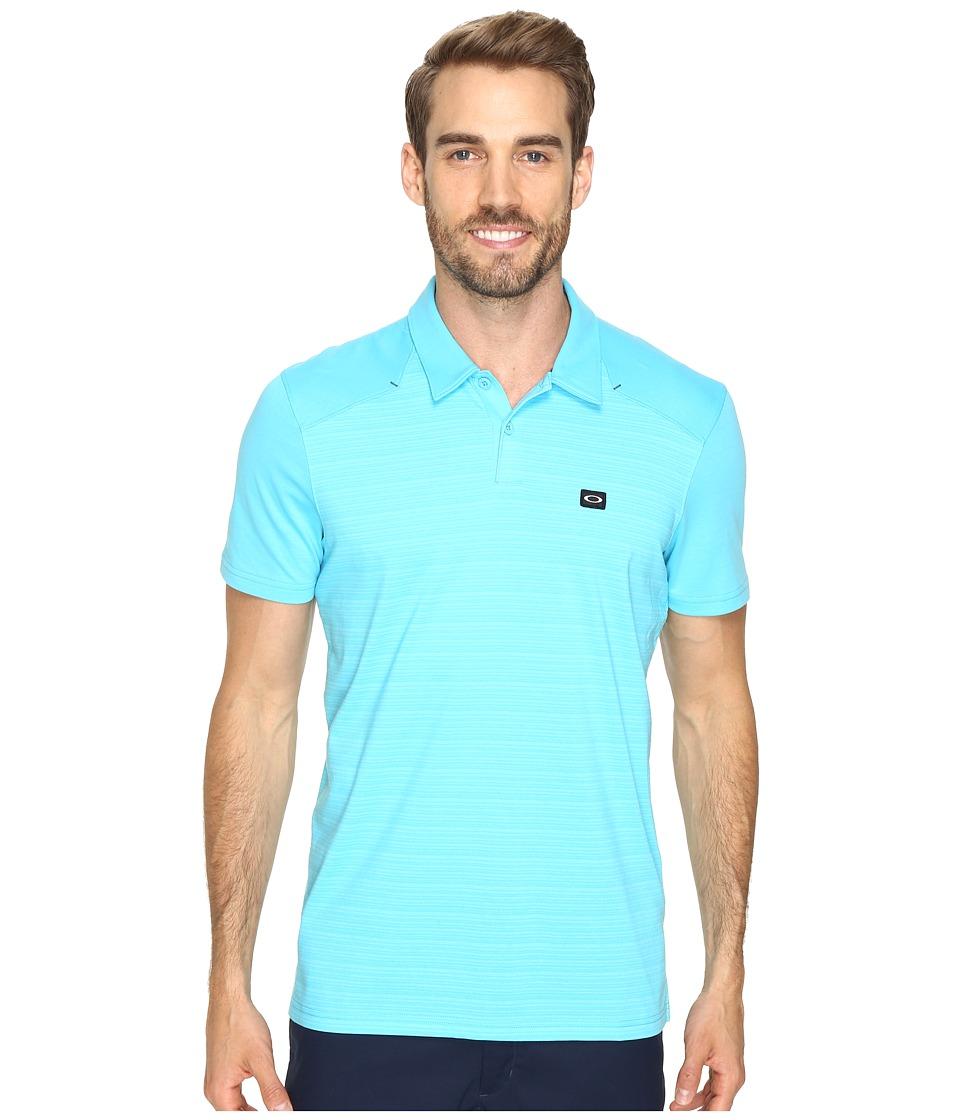 Oakley - Strand Polo (Illumination Blue) Men's Short Sleeve Knit