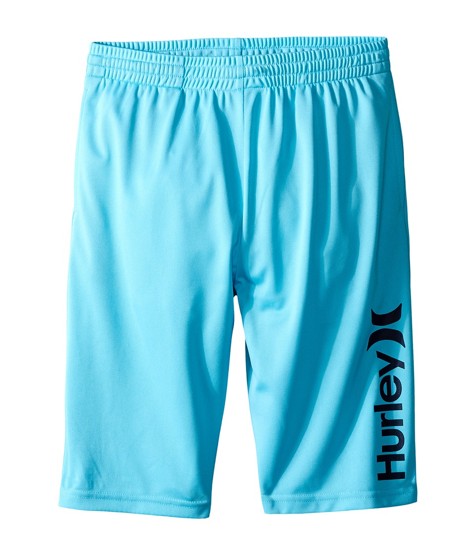Hurley Kids - One and Only Dri Fit Shorts (Big kids) (Beta Blue) Boy's Shorts