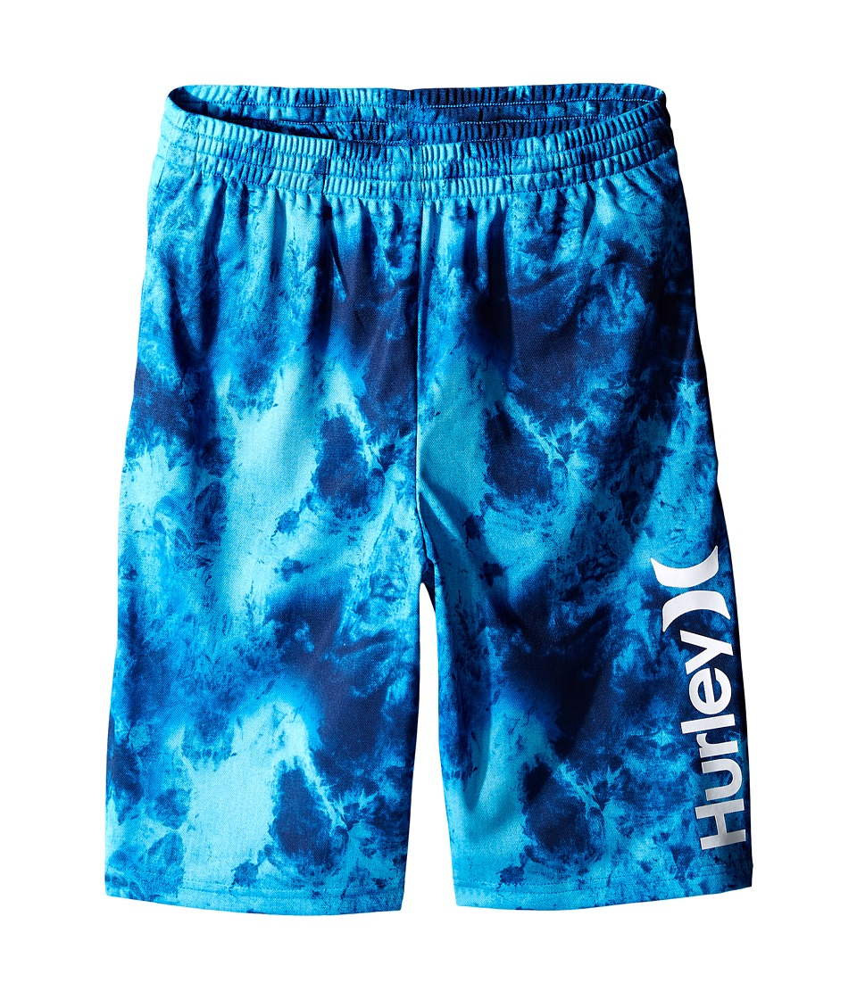 Hurley Kids - One and Only Dri Fit Shorts (Big kids) (Fountain Blue) Boy's Shorts