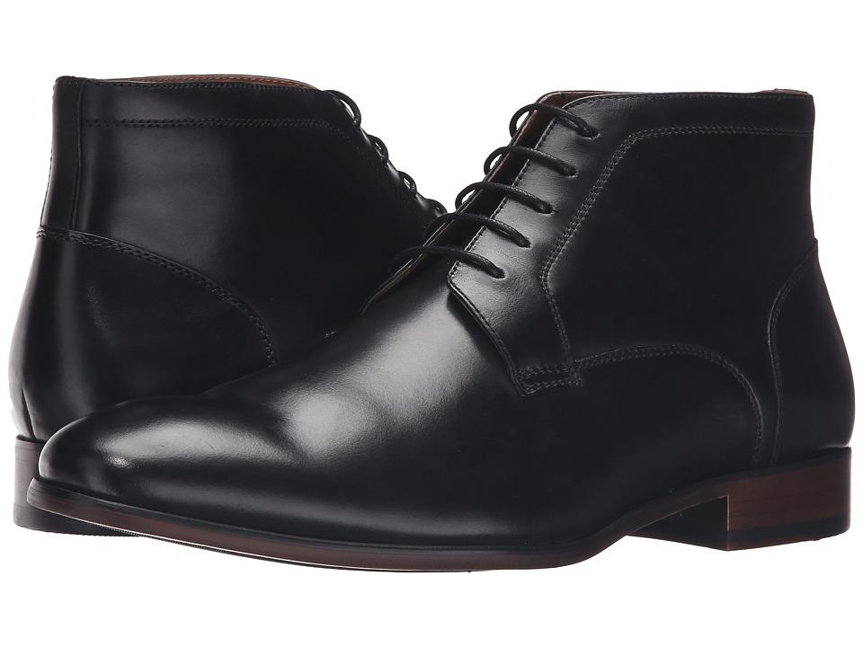 Steve Madden Webbar (Black Leather) Men
