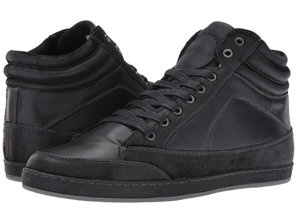 Steve Madden - Peyson (Black/Black) Men's Lace-up Boots