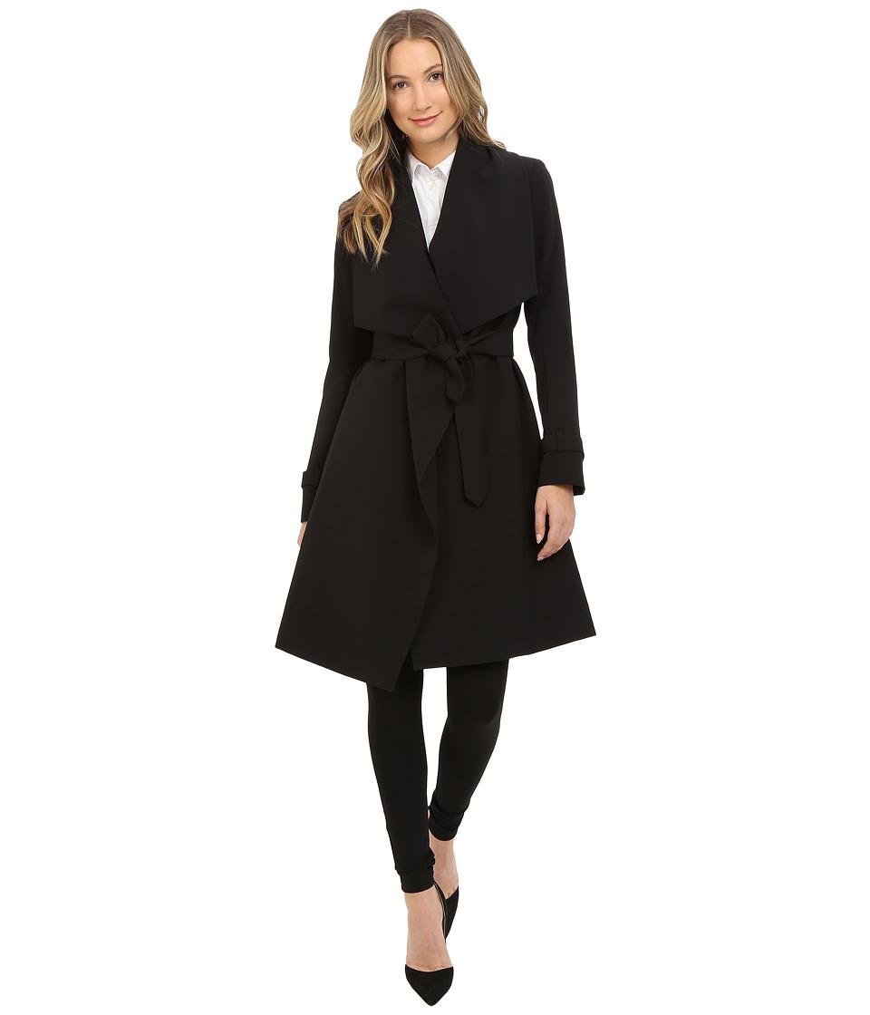 Diane von Furstenberg - Raquel (Black) Women's Coat