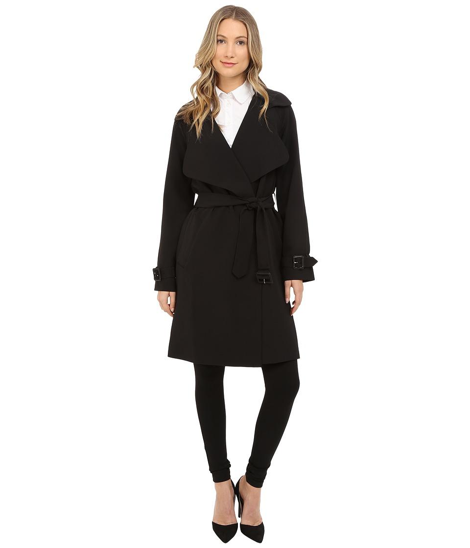 Diane von Furstenberg - Anouk (Black) Women's Coat