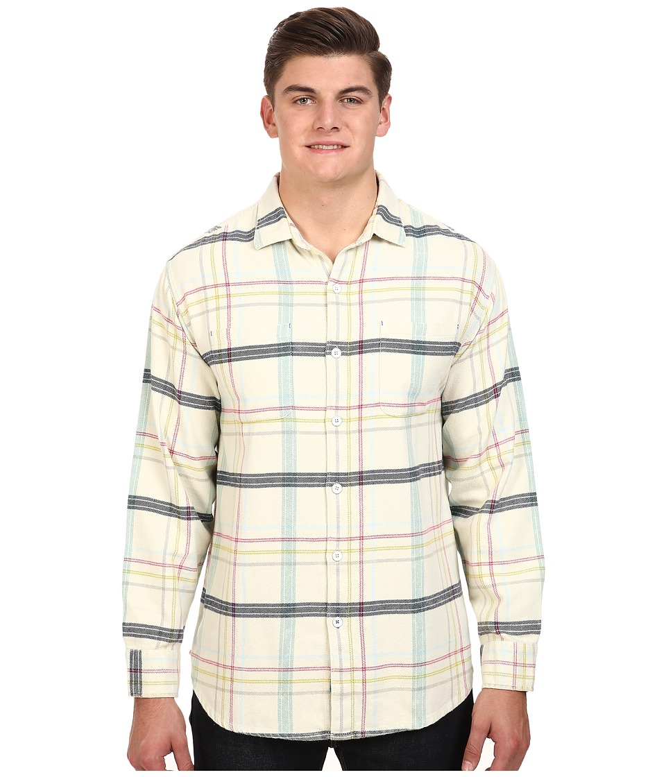 Tommy Bahama Big & Tall - Big Tall Sun Sea Flannel (Vanilla Cream) Men's Clothing