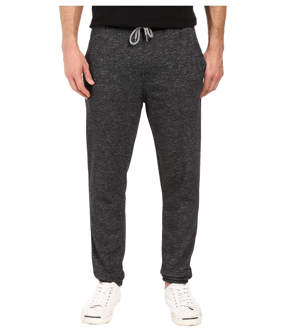 Billabong - Balance Cuffed Sweatpants (Black Heather) Men's Casual Pants