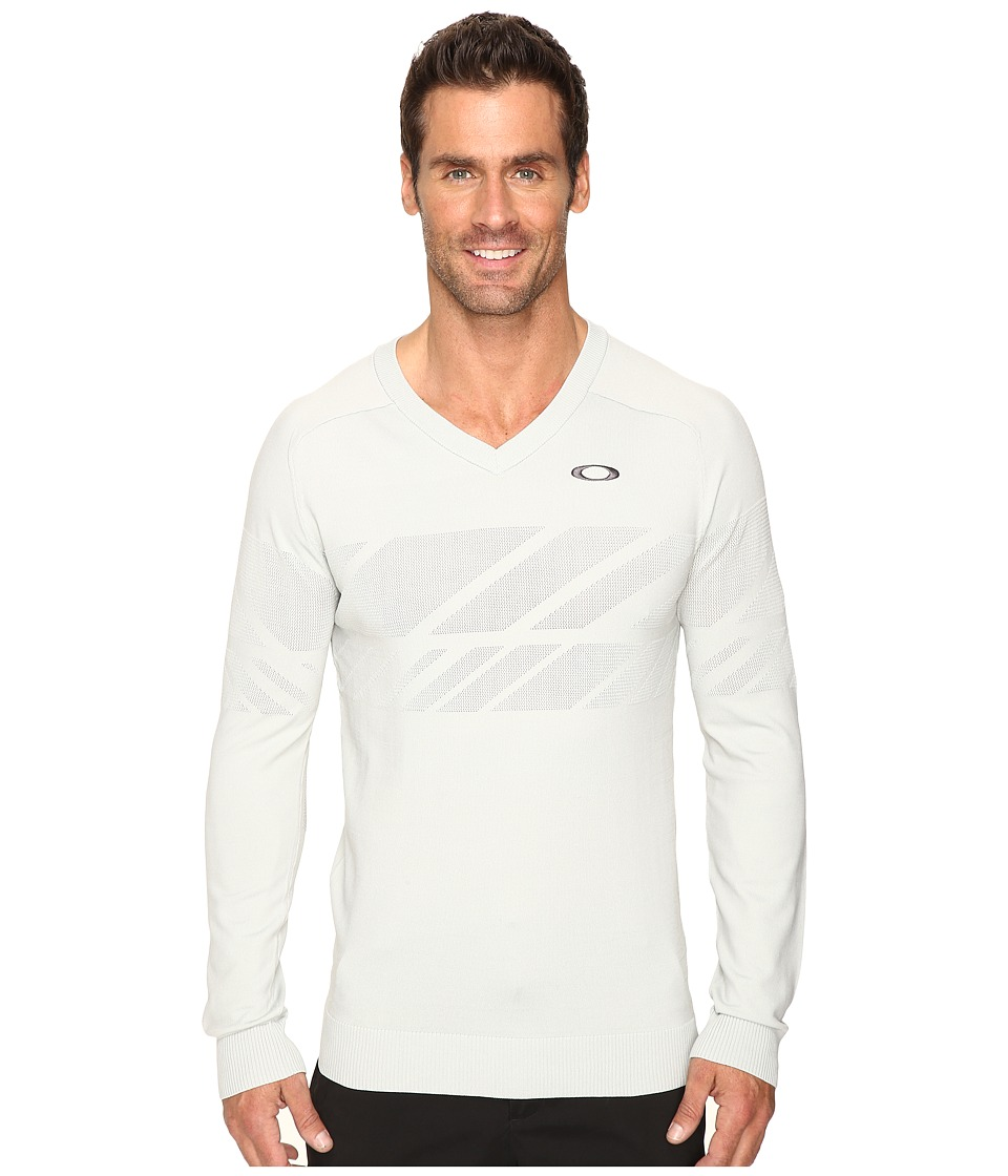 Oakley - Hazard Block Sweater (Gray) Men's Sweater