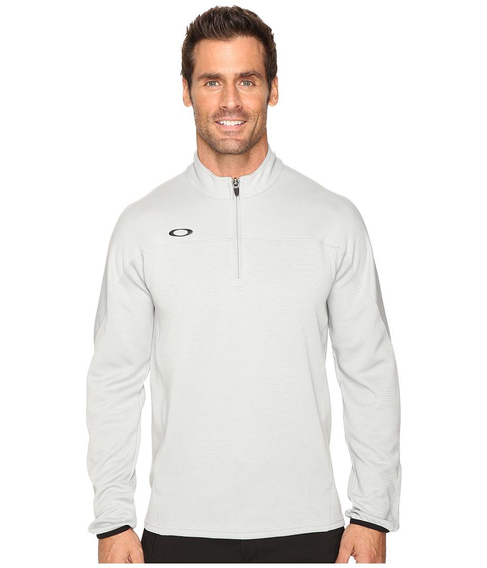 Oakley - Gridlock Pullover 1/4 Zip (Stone Gray) Men's Clothing