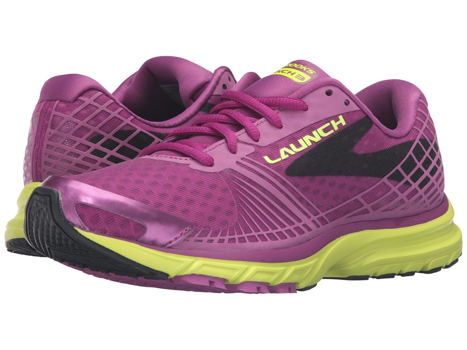 Brooks - Launch 3 (Hollyhock/Nightlife/Black) Women's Running Shoes