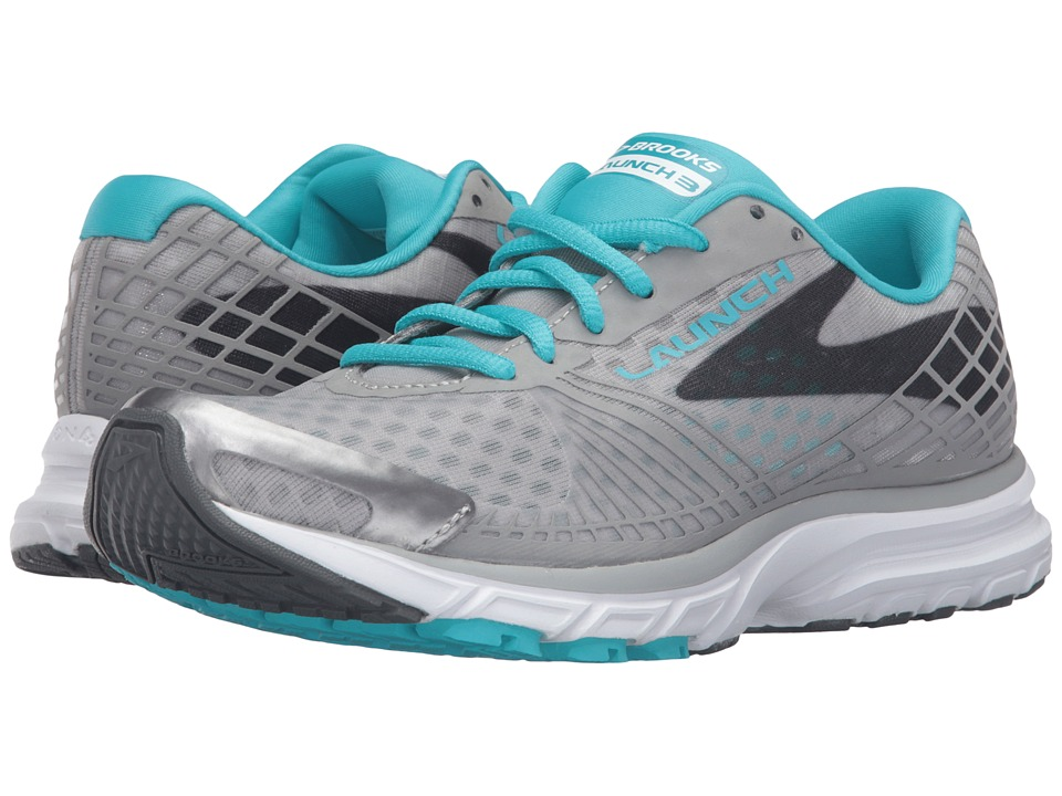 Brooks - Launch 3 (Alloy/Scuba Blue/Anthracite) Women's Running Shoes