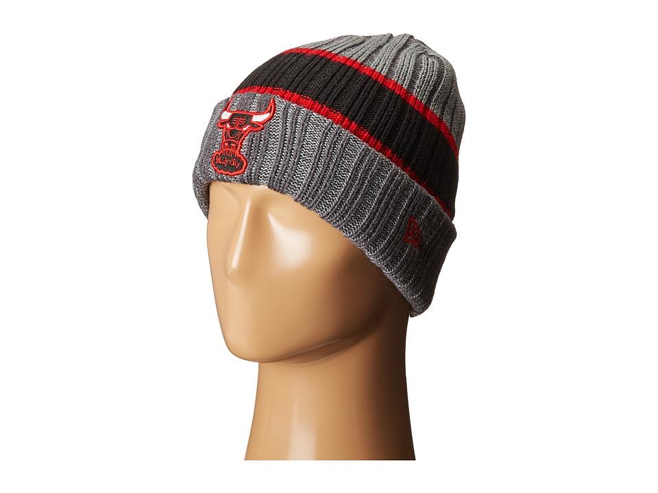 New Era - Stripe Chiller Chicago Bulls HWC (Red) Baseball Caps