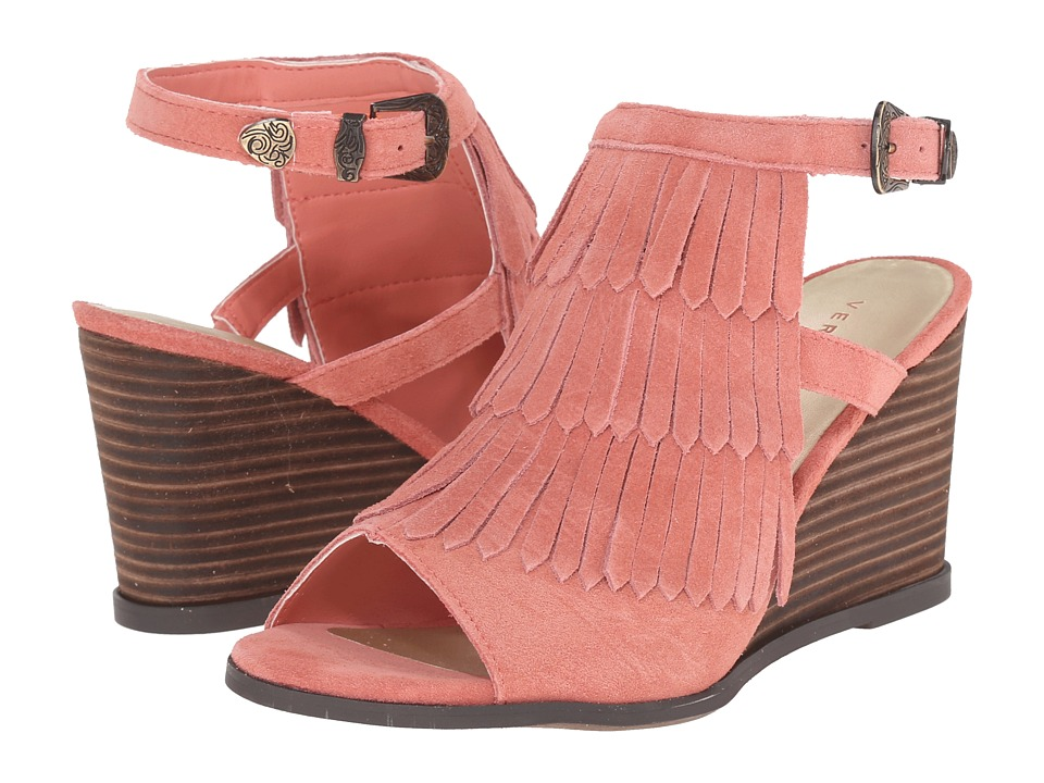 VOLATILE - Notion (Coral) Women's Wedge Shoes