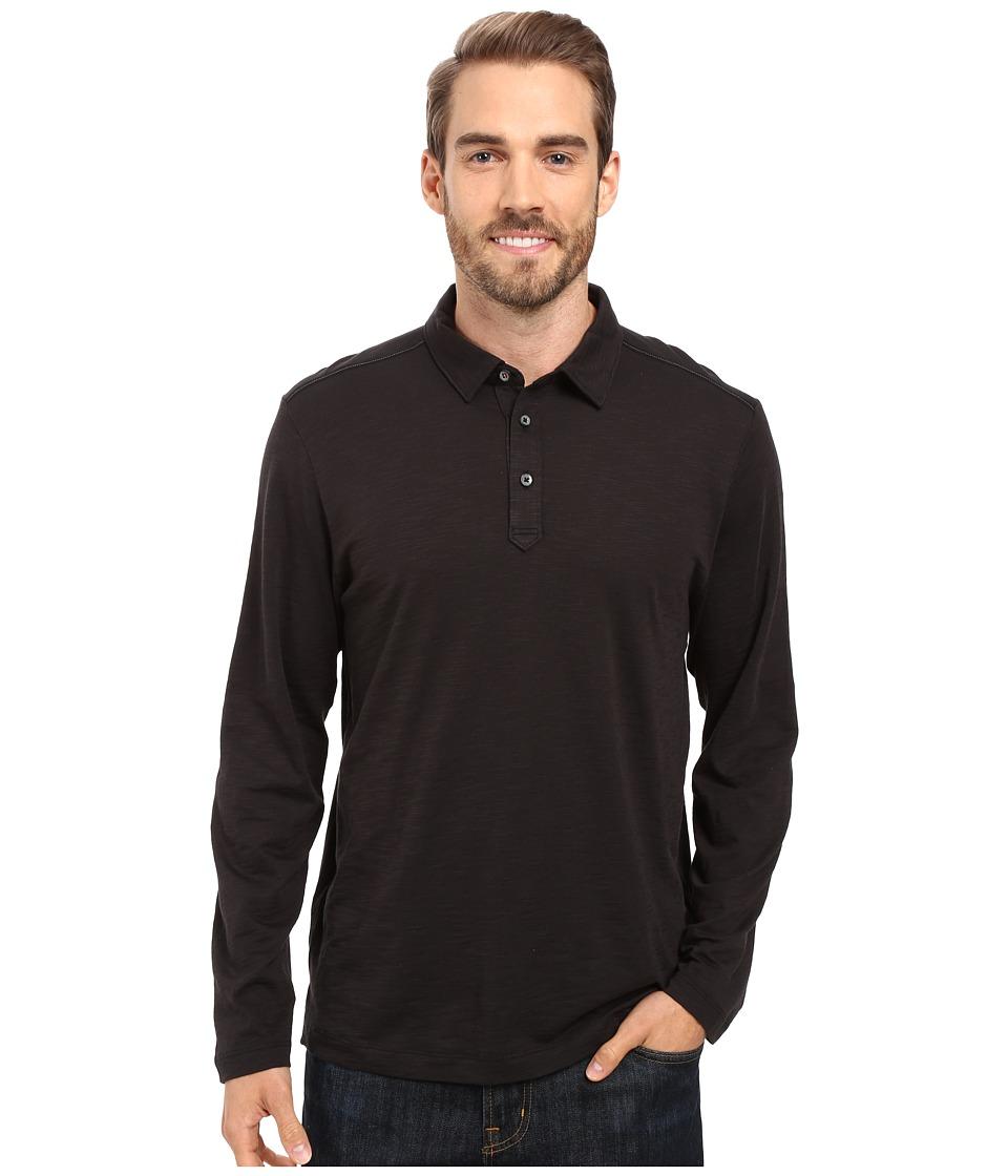 Tommy Bahama - Portside Player Spectator Long Sleeve (Black) Men's Clothing