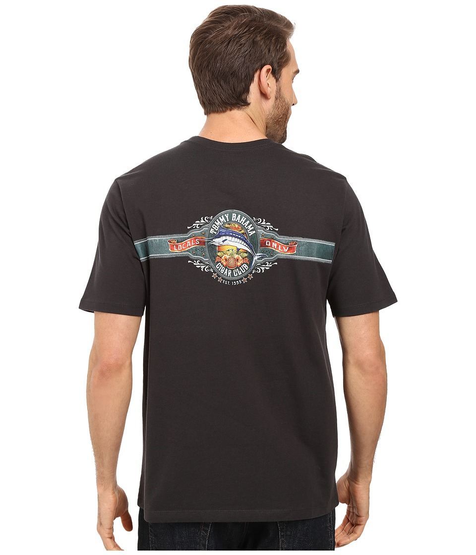 Tommy Bahama - Cigar Club Tee (Coal) Men's T Shirt