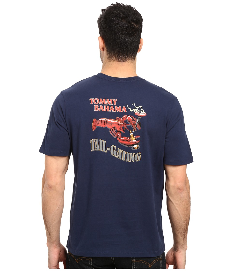 Tommy Bahama - Tail Gating Tee (Navy) Men's T Shirt