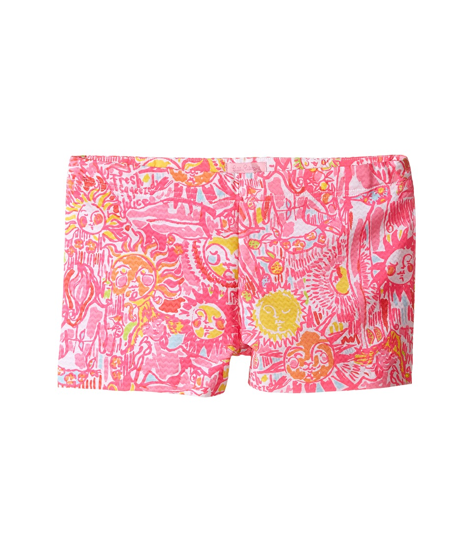 Lilly Pulitzer Kids - Little Liza Shorts (Toddler/Little Kids/Big Kids) (Pink Pout More Kinis In The Keys) Girl's Shorts