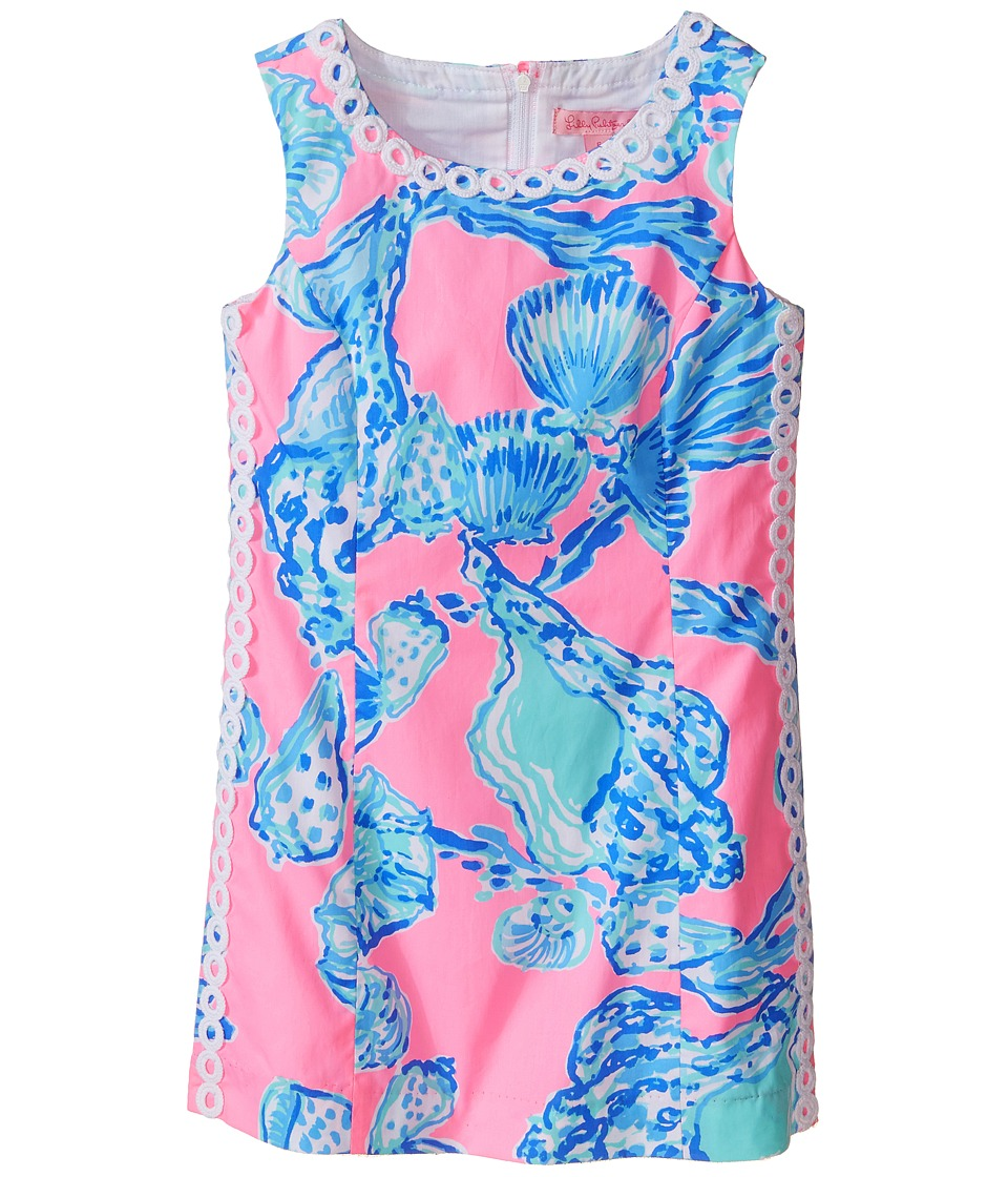 Lilly Pulitzer Kids - Mini Mila Shift (Little Kids/Big Kids) (Pink Pout Barefoot Princess) Girl's Dress