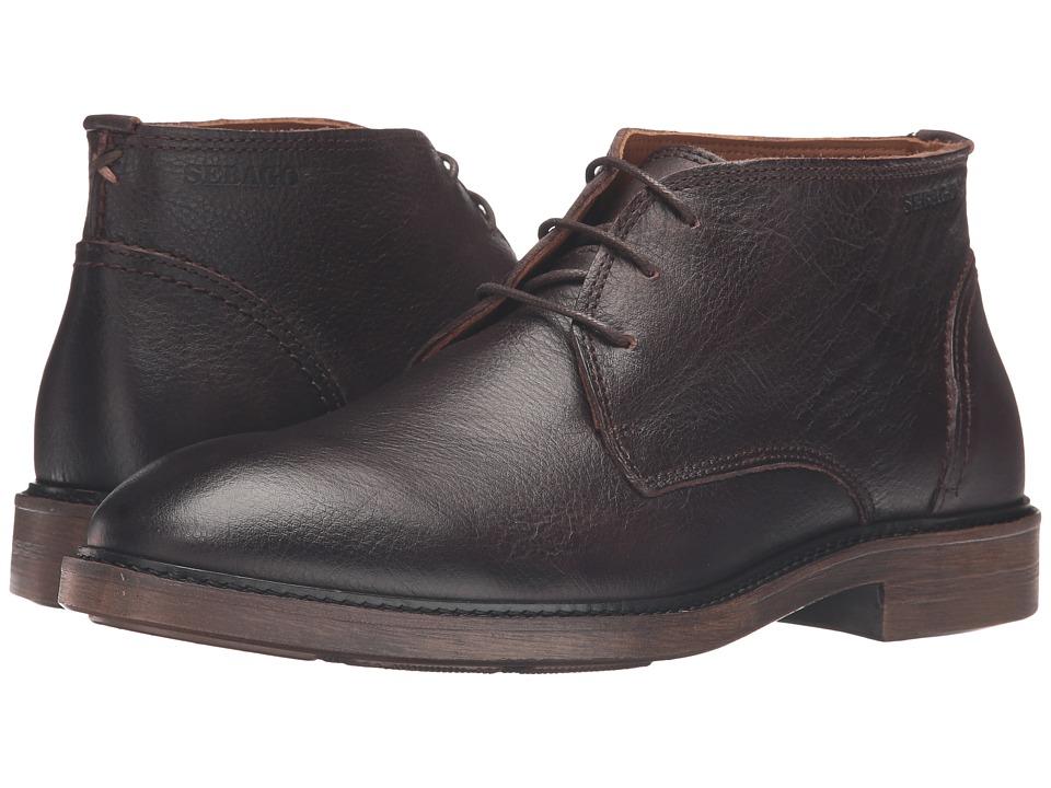 Sebago - Bryant Chukka (Dark Brown Pebbled Leather) Men's Shoes