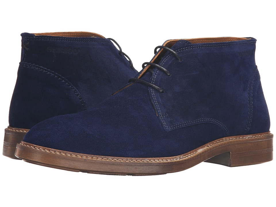 Sebago - Bryant Chukka (Navy Suede) Men's Shoes