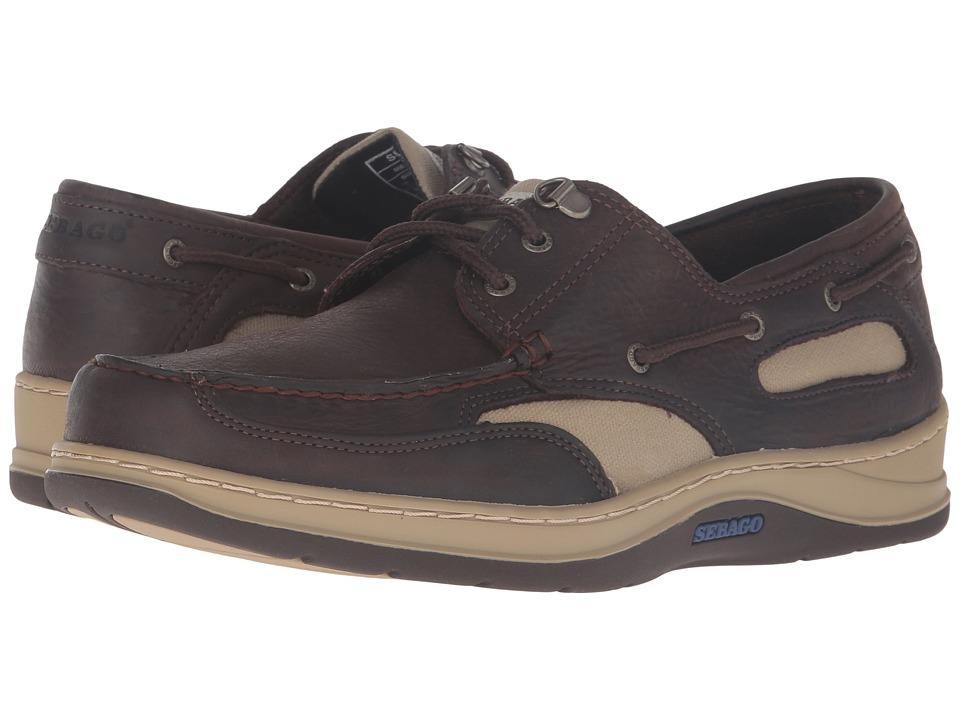 Sebago - Clovehitch II (Dark Brown Leather) Men's Lace up casual Shoes
