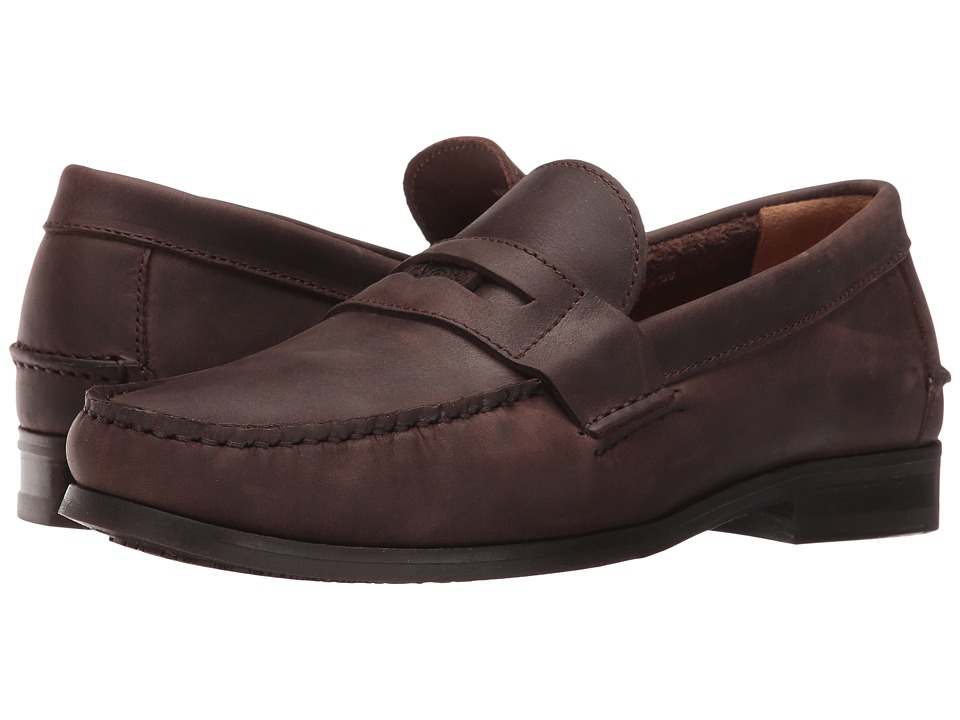 Sebago - Conrad Penny (Dark Brown Way Leather) Men's Shoes