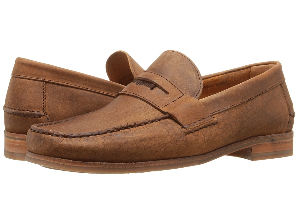 Sebago - Conrad Penny (Tan Crackled Leather) Men's Shoes