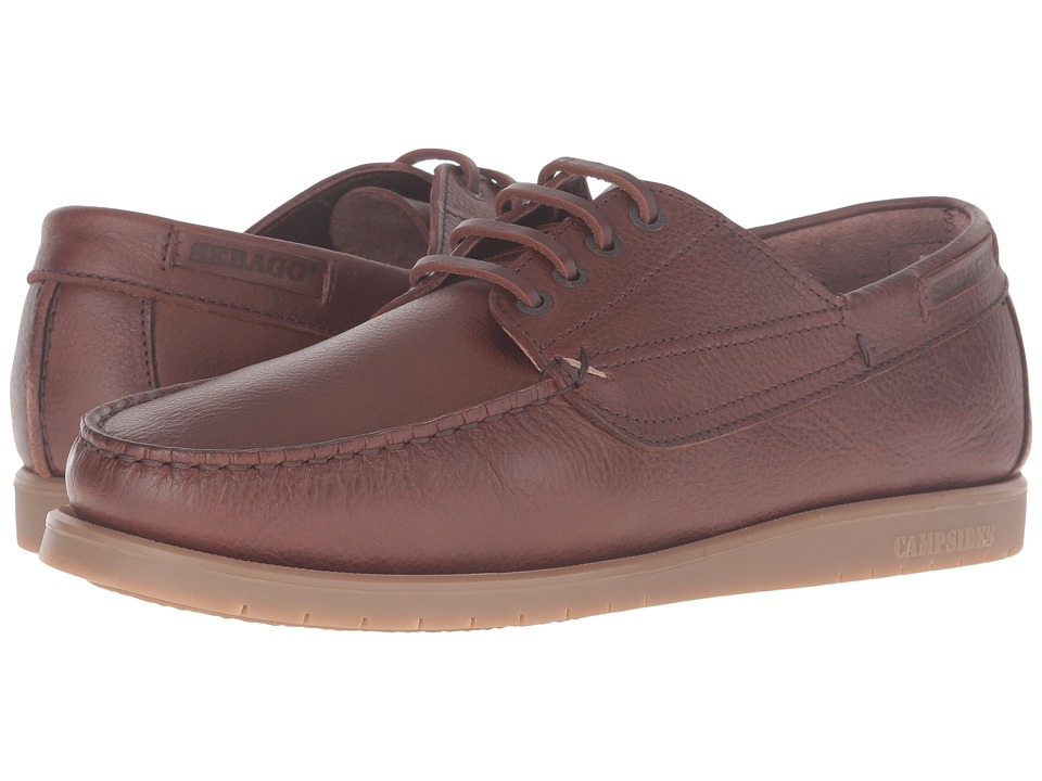 Sebago - Landon Four Eye (Brown Leather) Men's Shoes