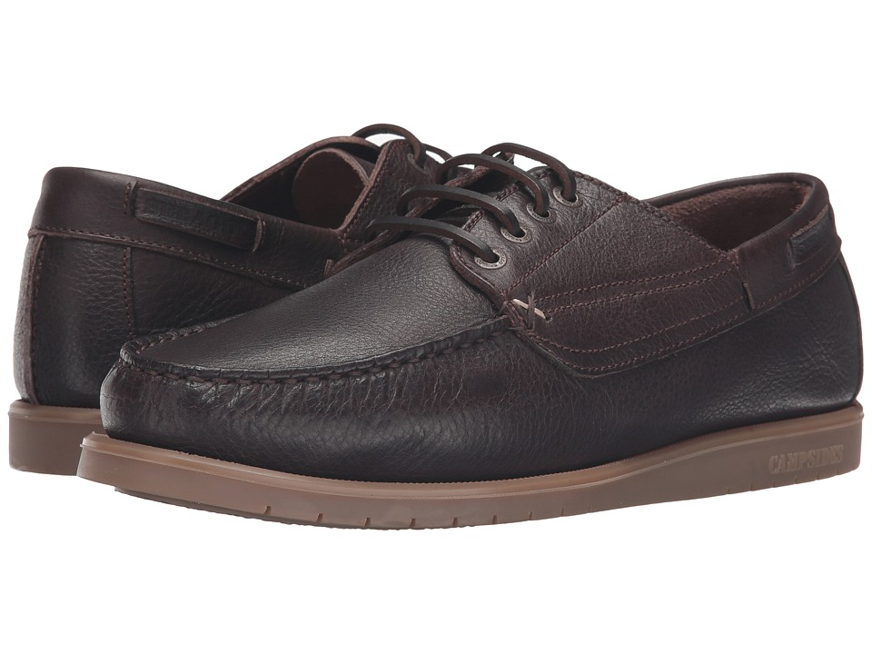 Sebago - Landon Four Eye (Dark Brown Leather) Men's Shoes