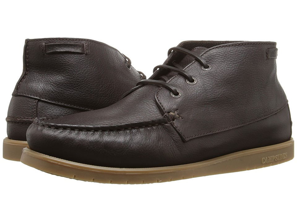 Sebago - Landon Chukka (Dark Brown Leather) Men's Shoes