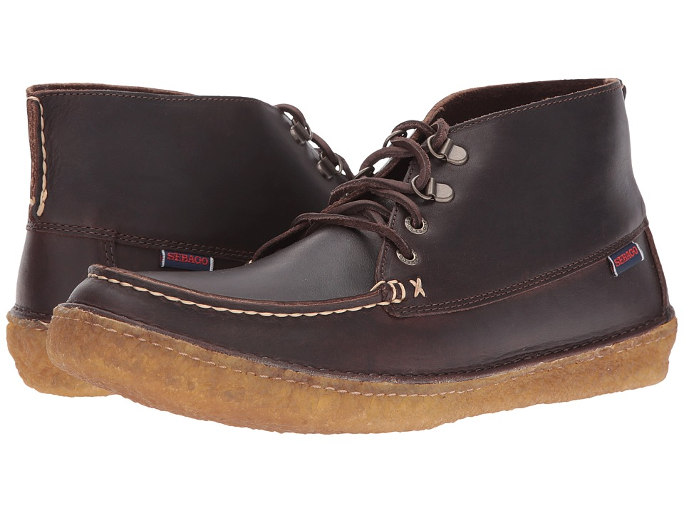 Sebago - Ronan Chukka (Dark Brown Leather) Men's Shoes