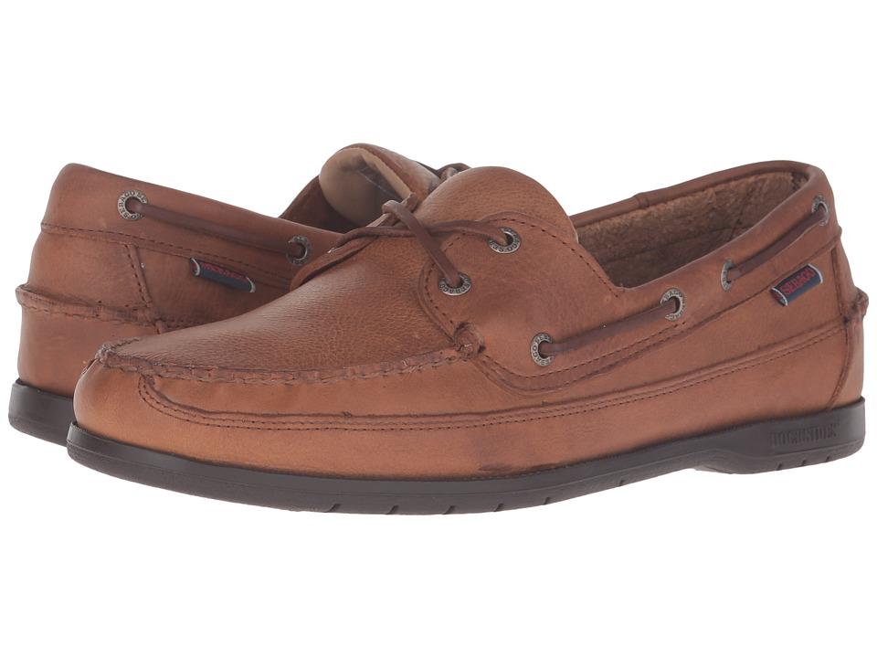 Sebago - Schooner (Tan Tumbled Leather) Men's Shoes