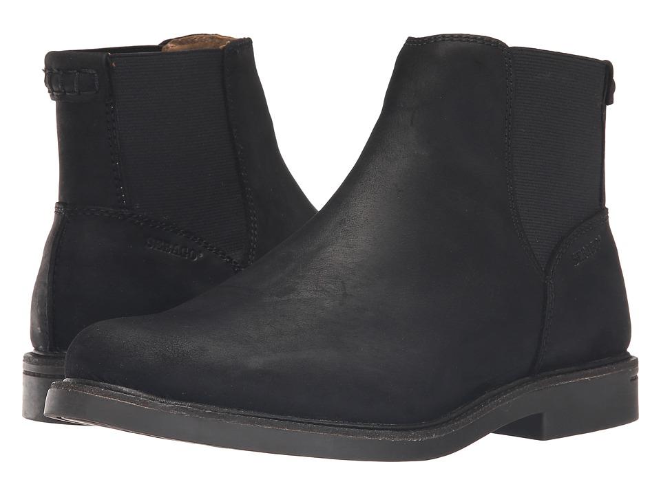 Sebago Turner Chelsea Waterproof (Black Leather) Men