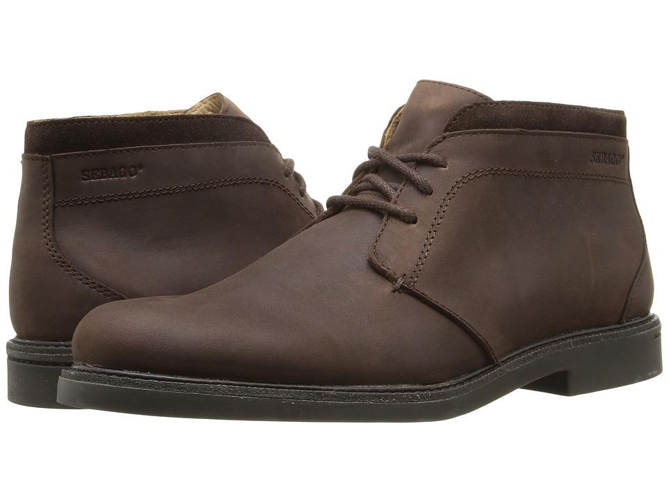 Sebago Turner Chukka Waterproof (Dark Brown Leather) Men