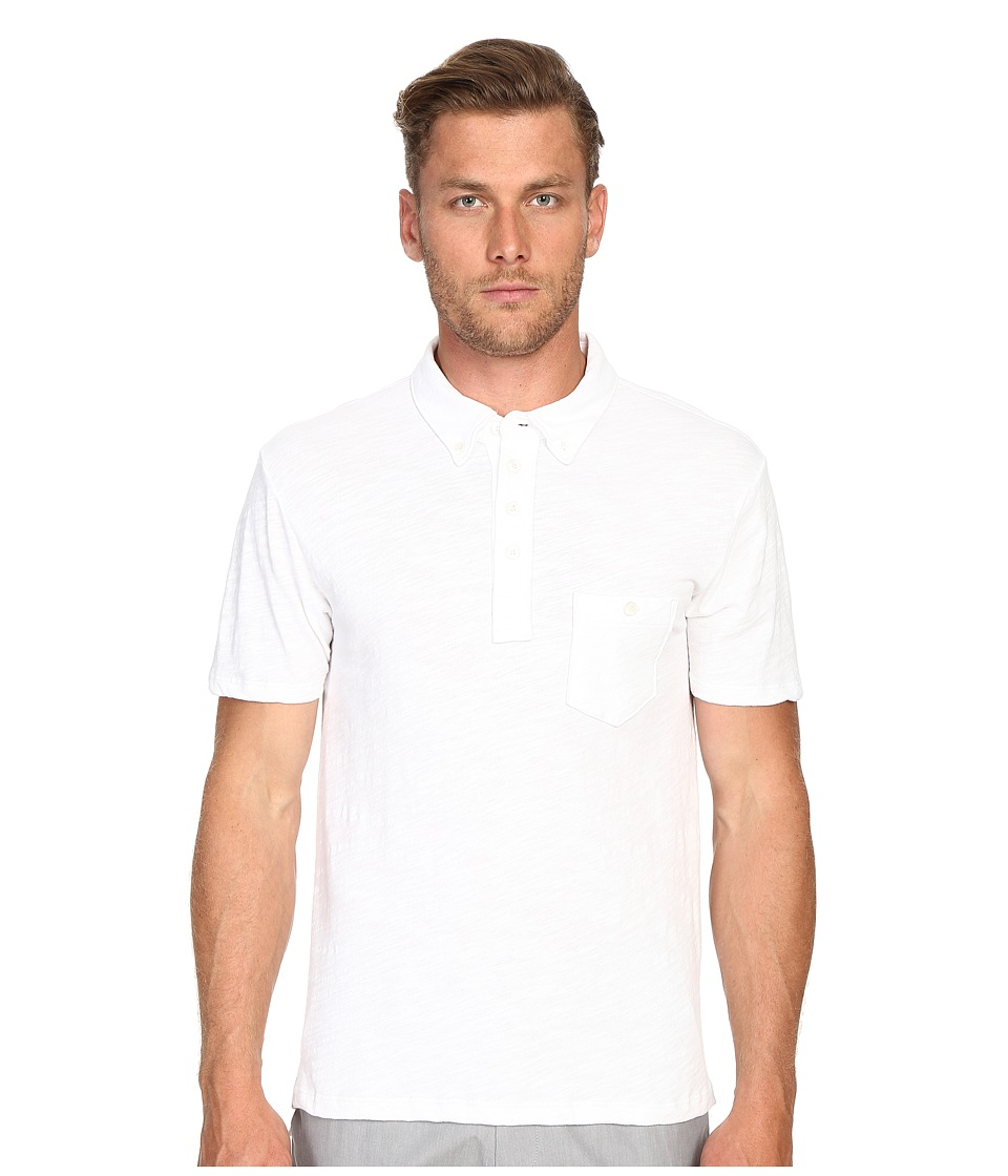 Todd Snyder - Weathered Pocket Polo (White) Men's Clothing
