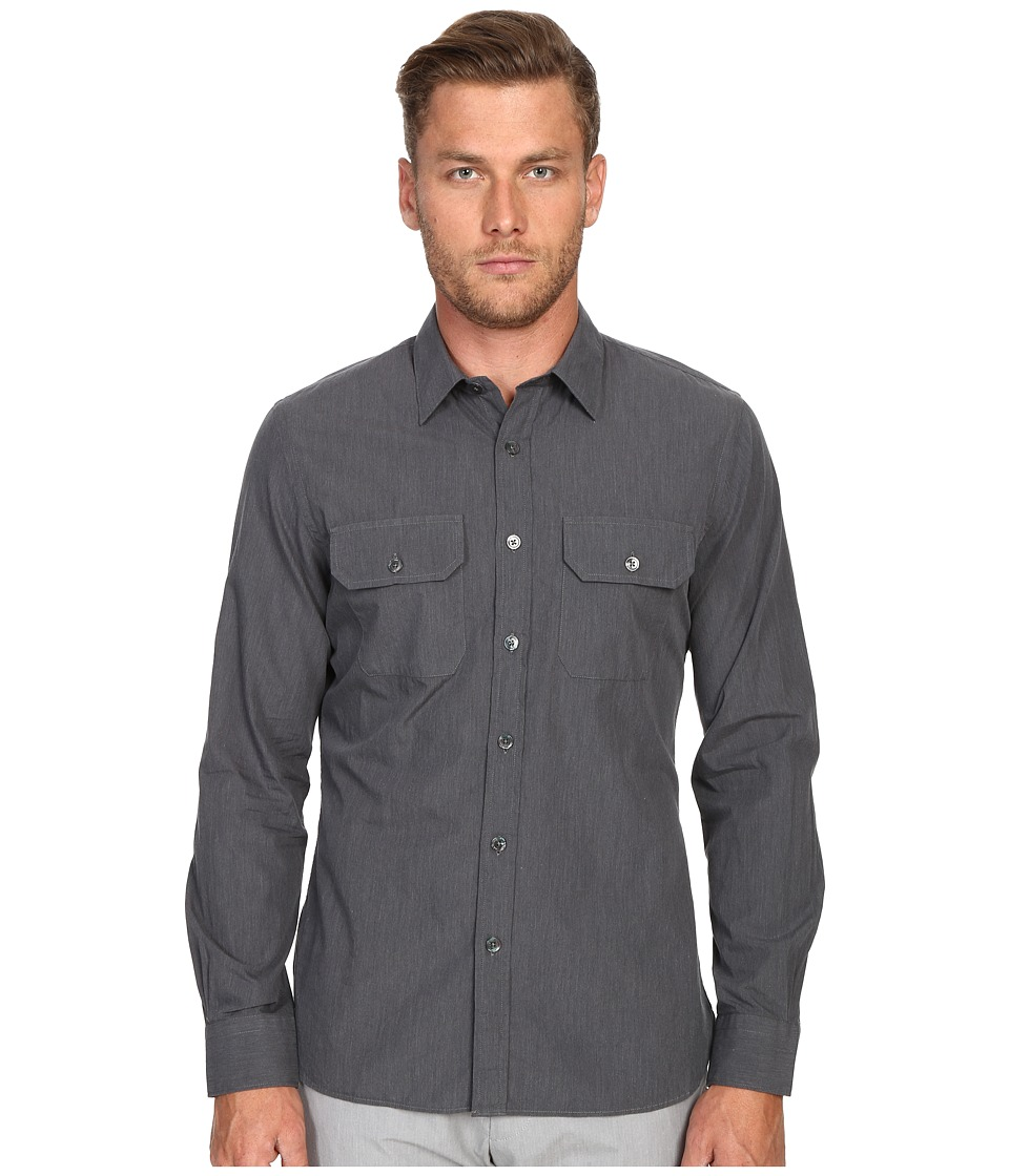 Todd Snyder - Utility Shirt (Charcoal) Men's Clothing