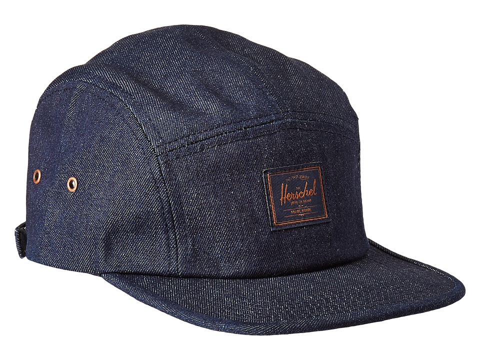 Herschel Supply Co. - Glendale Classic (Raw Denim) Caps
