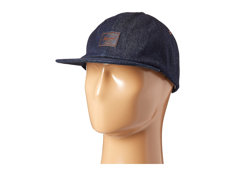 Herschel Supply Co. - Albert (Raw Denim) Caps