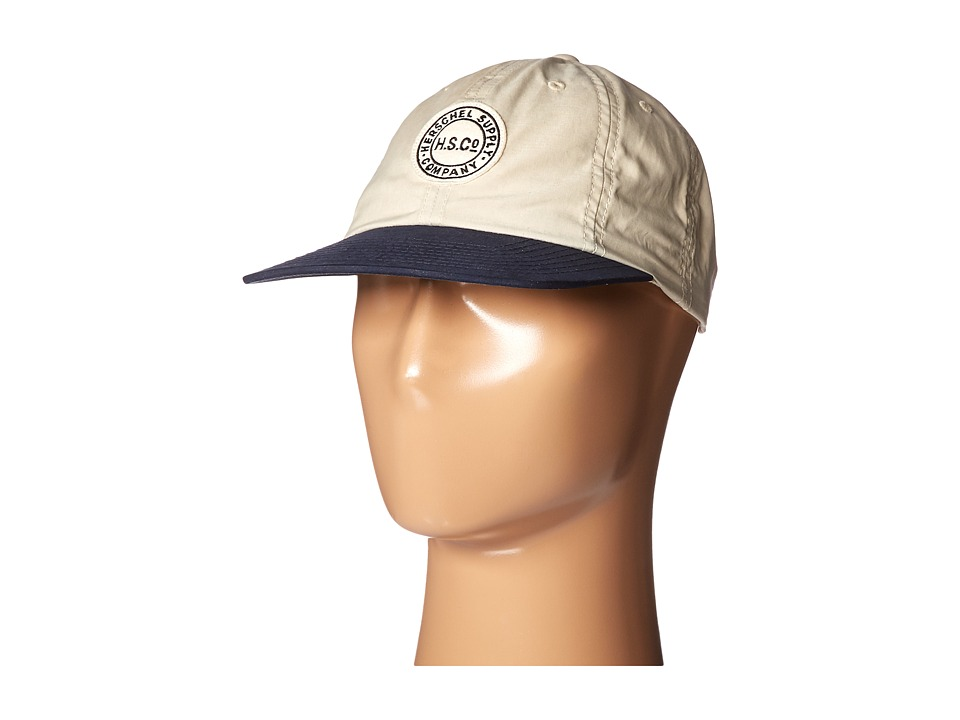 Herschel Supply Co. - Glenwood (Light Khaki/Dark Navy) Caps