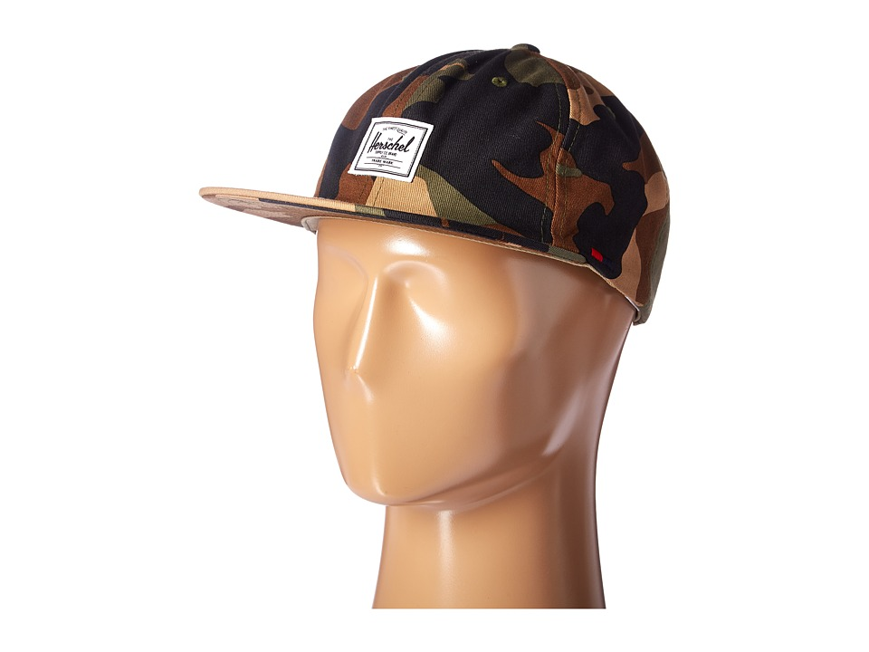 Herschel Supply Co. - Albert (Woodland Camo) Caps