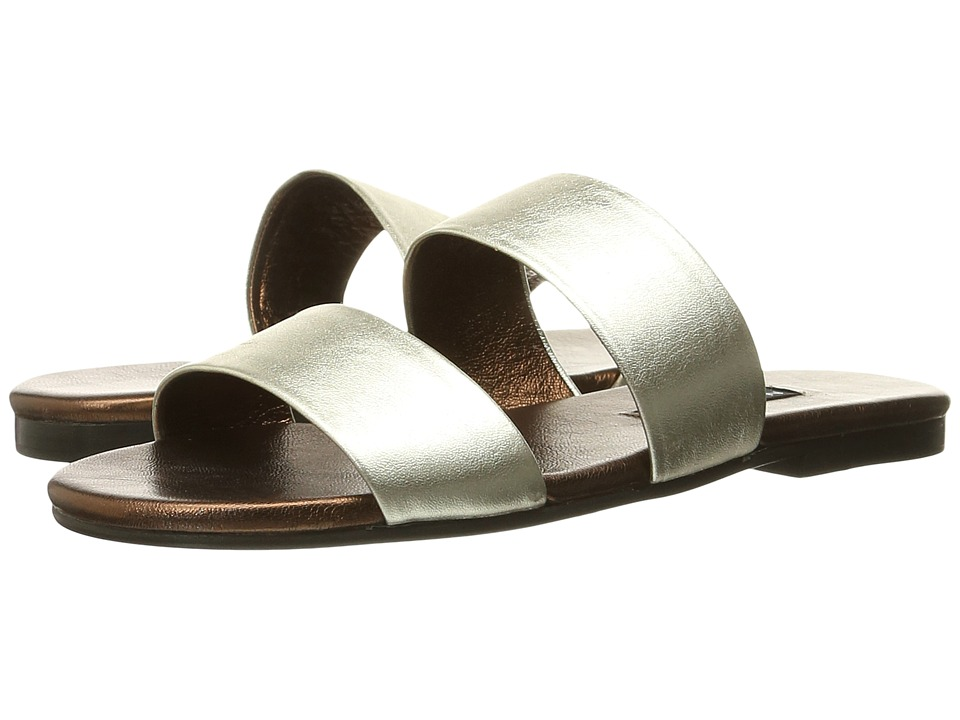 NewbarK - Roma IV (Silver Metallic/Bronze Metallic) Women's Sandals