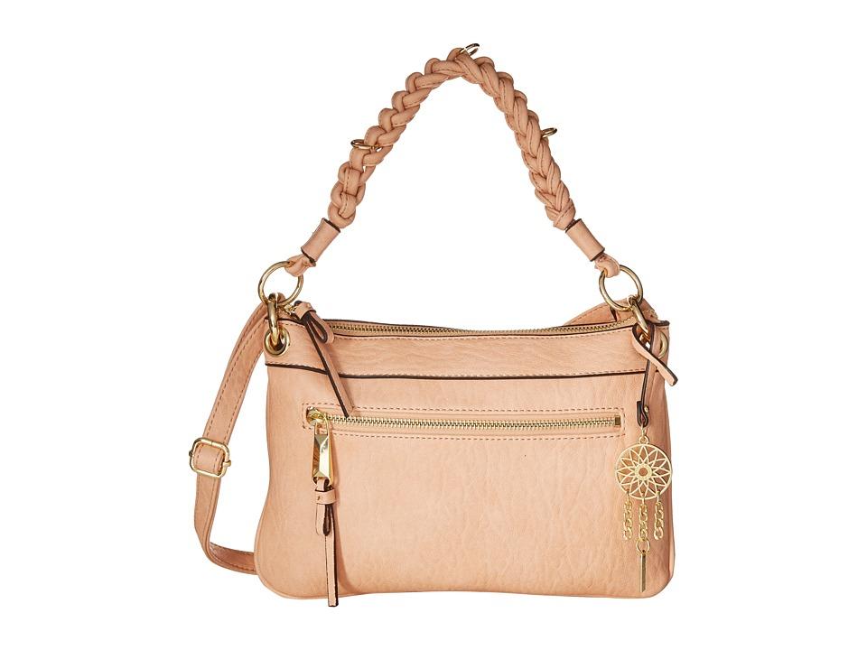 Jessica Simpson - Joyce Crossbody Clutch (Peach) Cross Body Handbags