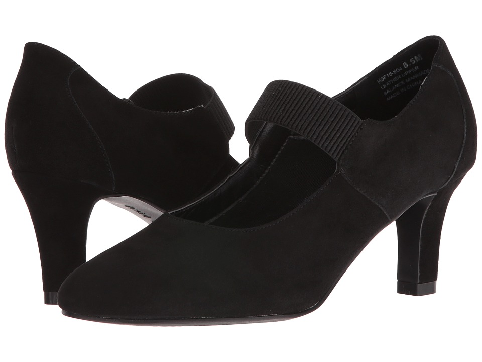 David Tate Dixie (Black Suede) Women