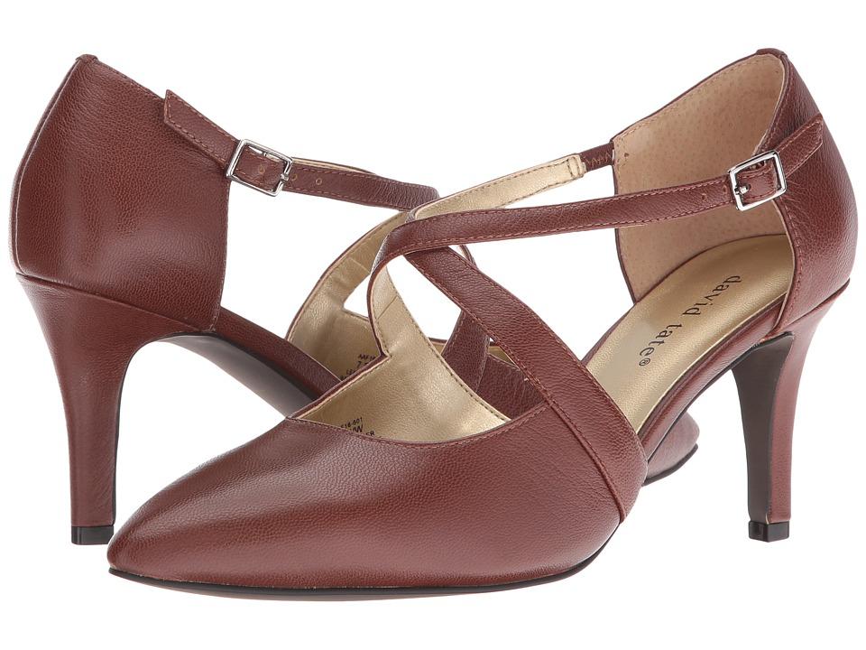 David Tate - Jojo (Cognac) Women's Boots