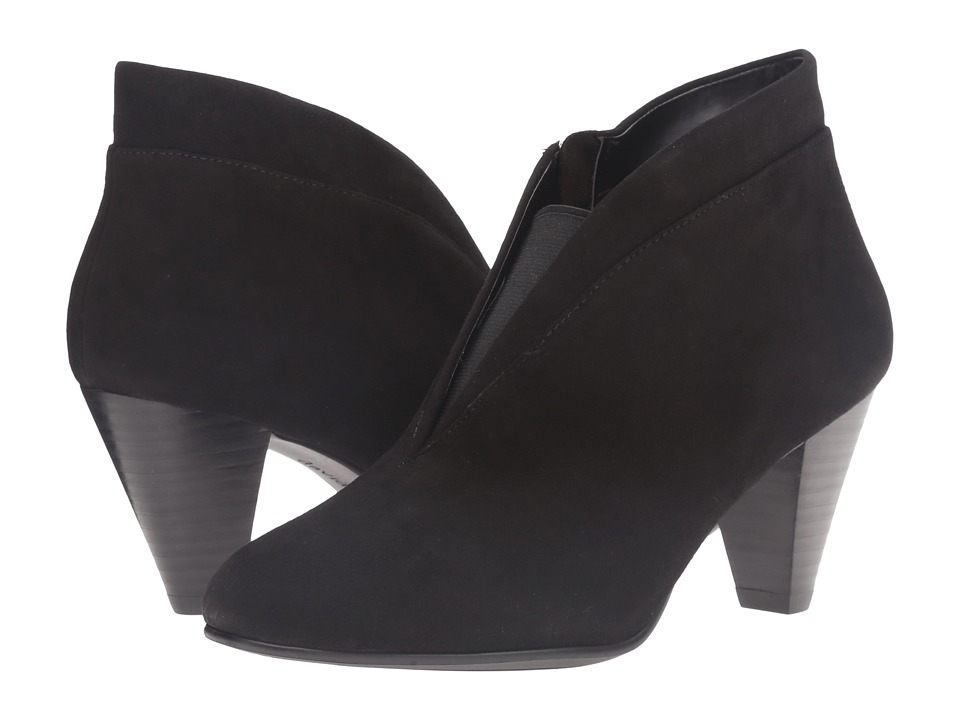 David Tate - Natalie (Black Suede) Women's Shoes