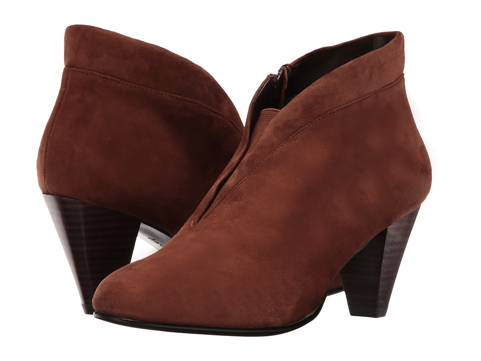 David Tate - Natalie (Brown Suede) Women's Shoes