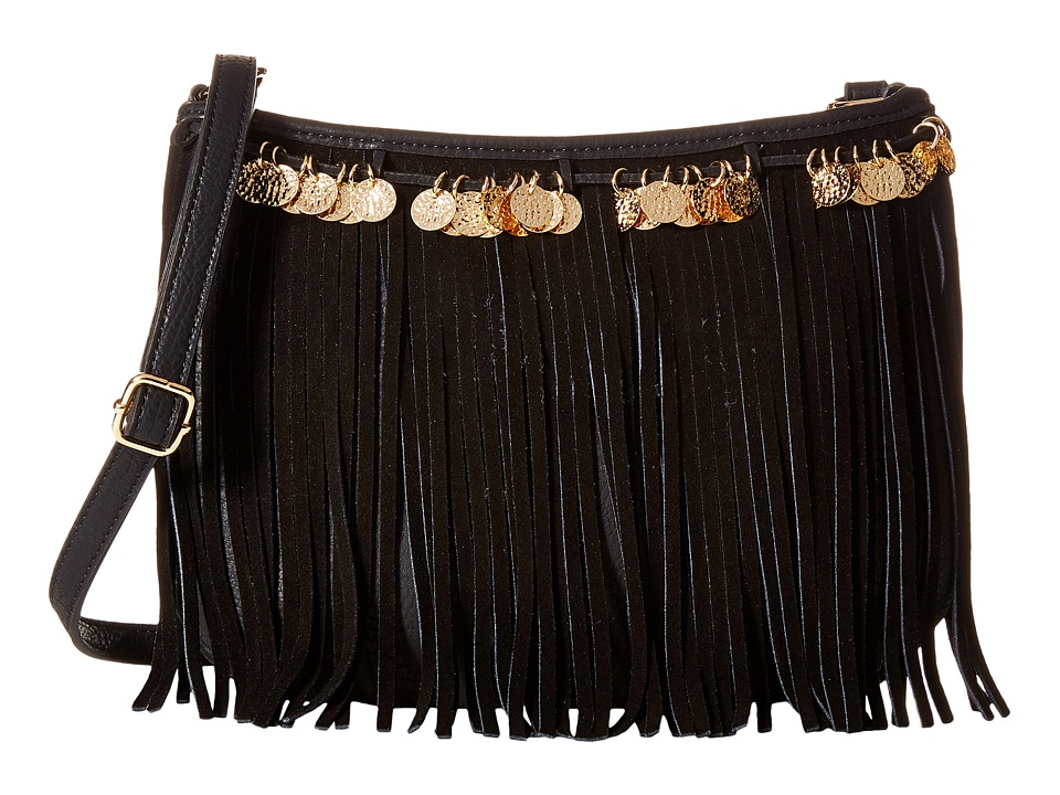 Jessica Simpson - Zinnia Crossbody (Black) Cross Body Handbags